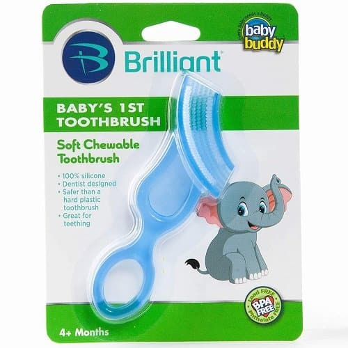 brilliant baby's 1st toothbrush
