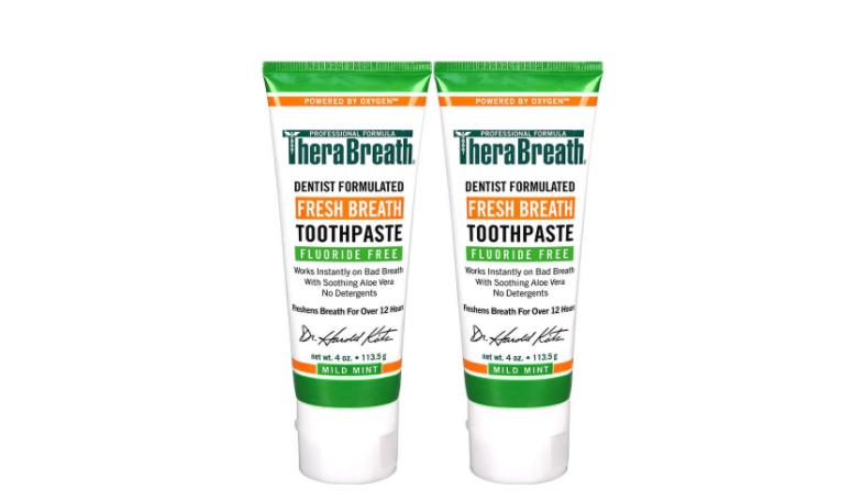 threrabreath toothpaste