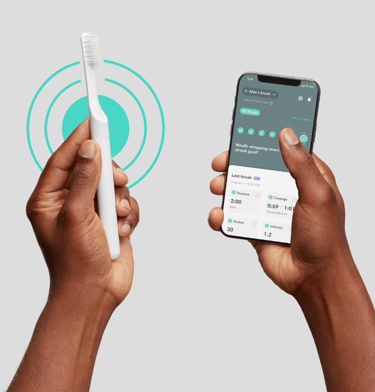 quip toothbrush features